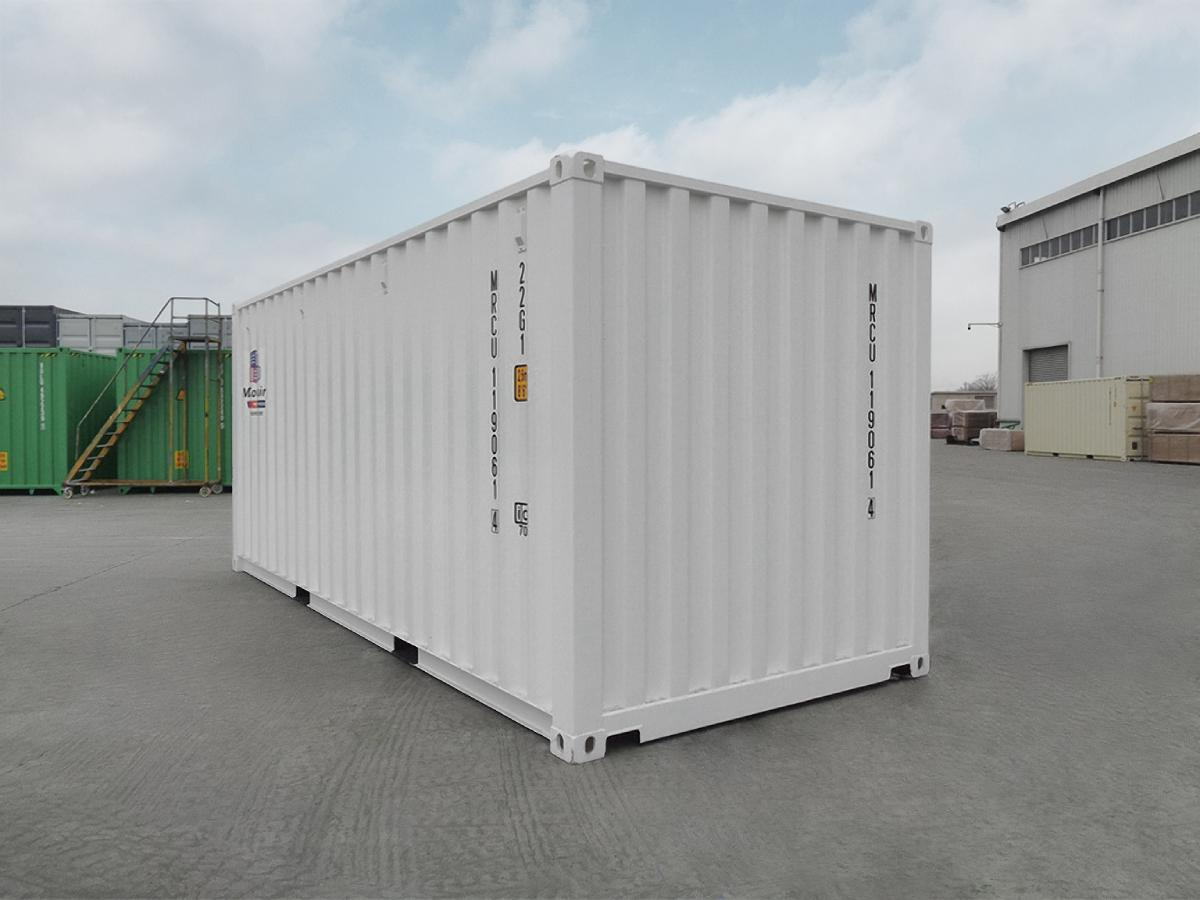20′ New (1-trip) Shipping Container - Custom Cubes