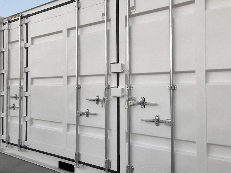 """20' """"Openside"""" Shipping Container - Custom Cubes"""