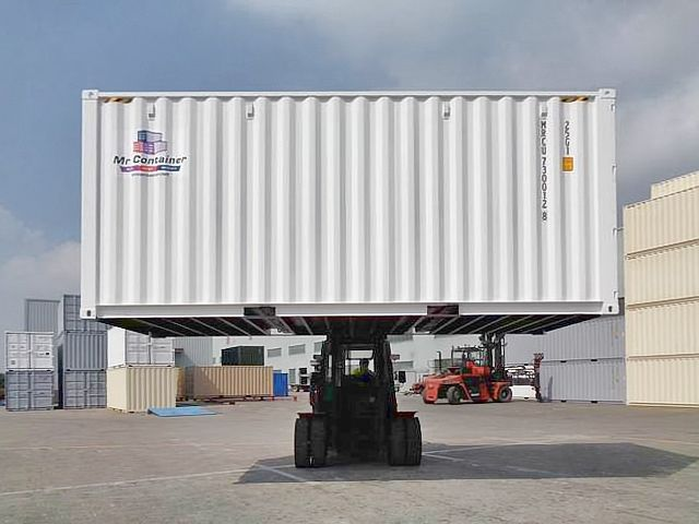 20'HC New (1-trip) Shipping Container - Custom Cubes