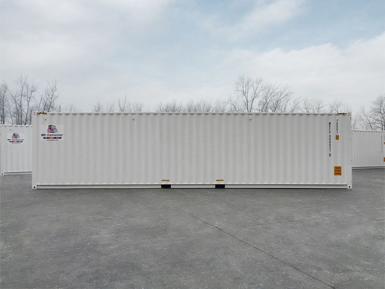 40'HC New (1-trip) Shipping Container - Custom Cubes