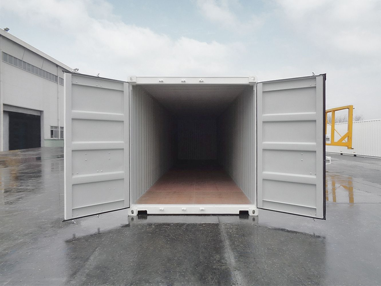 40′ New (1-trip) Shipping Container - Custom Cubes