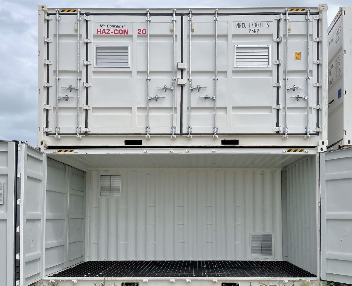 "20'HC ""Openside"" HAZCON Containment Unit - Custom Cubes"