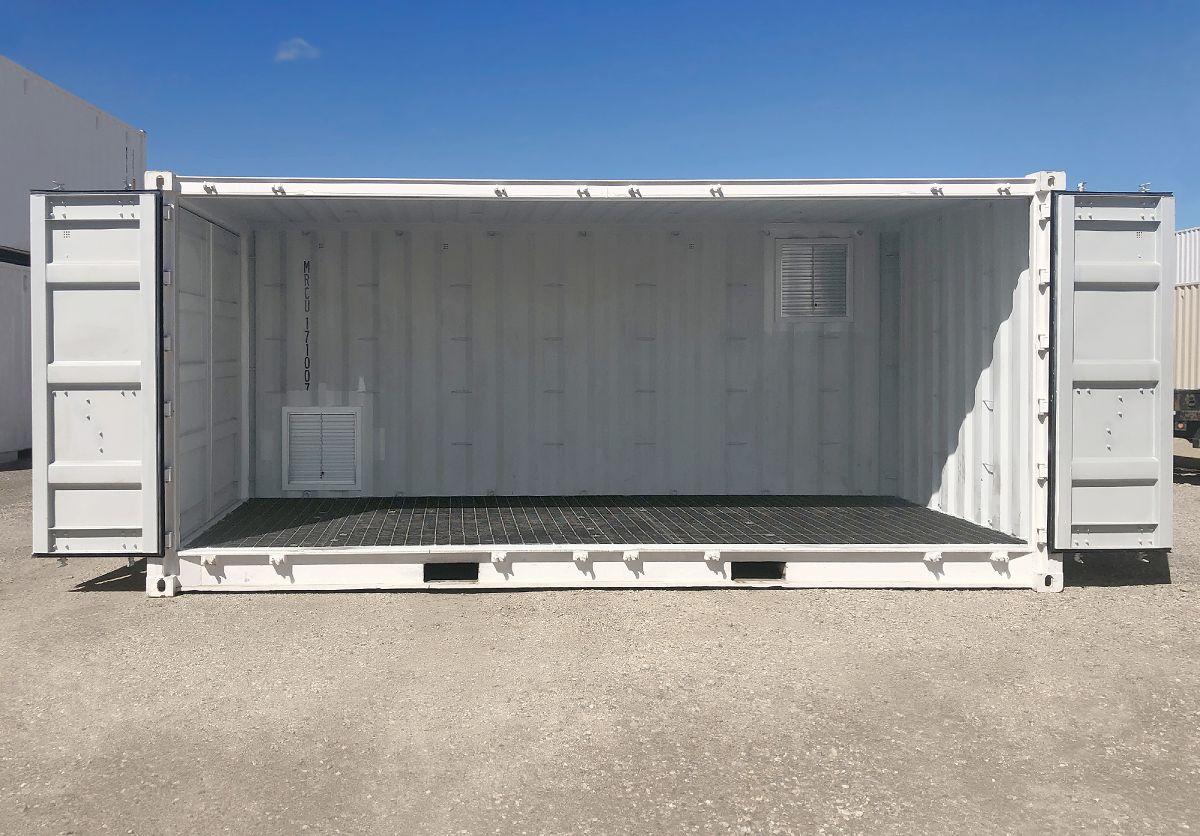 "20'STD ""Openside"" HAZCON Containment Unit - Custom Cubes"