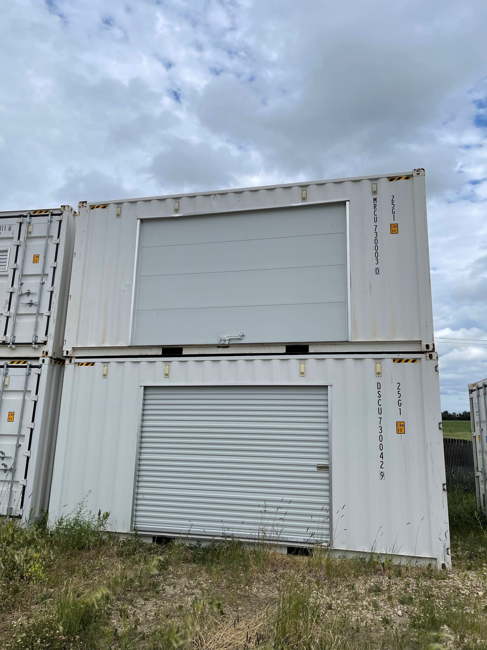 20′ HC (1-Trip) Shipping Container Rollup Door - Custom Cubes