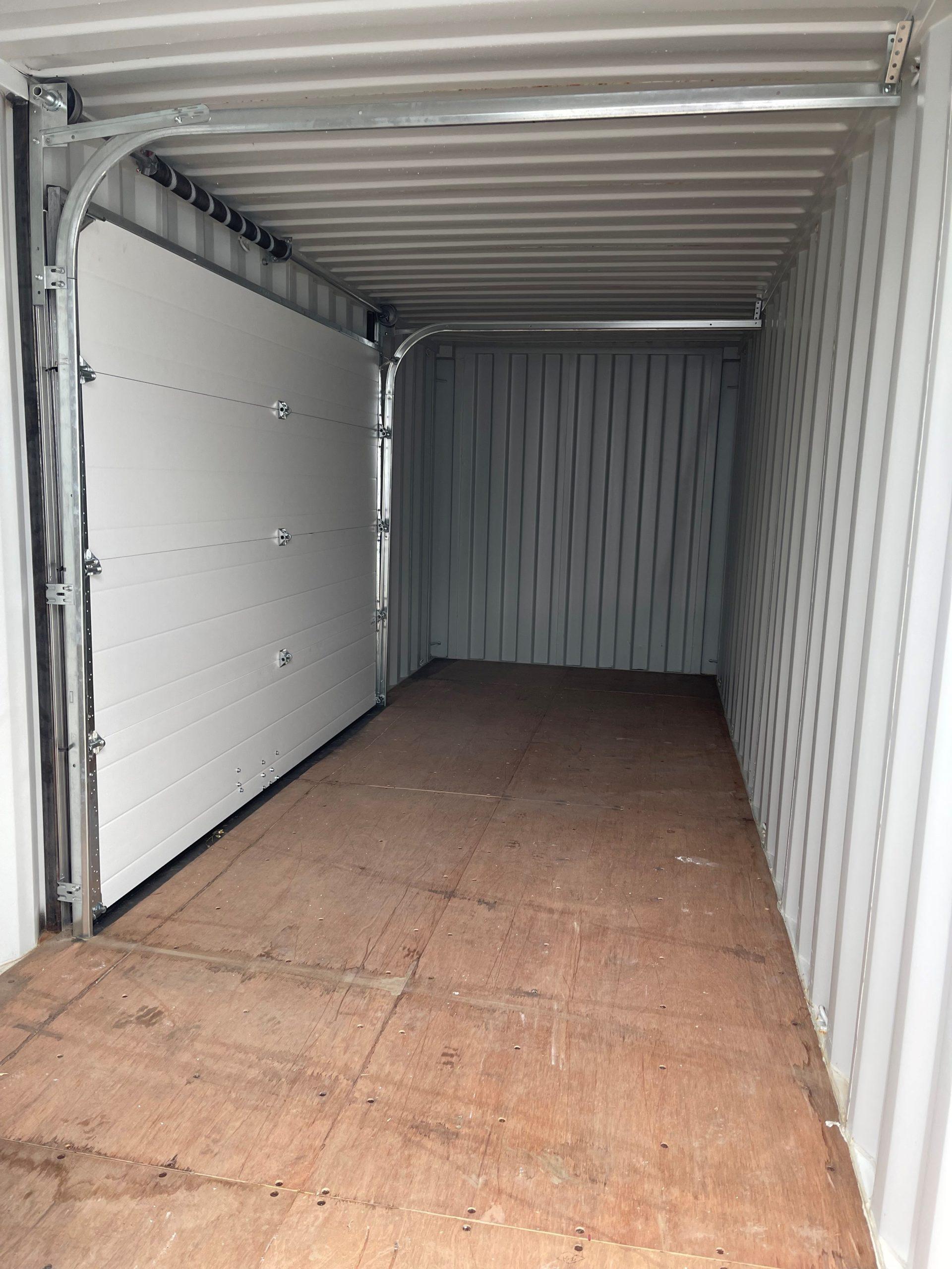 22′ STD (1-Trip) Shipping Container Overhead Door - Custom Cubes